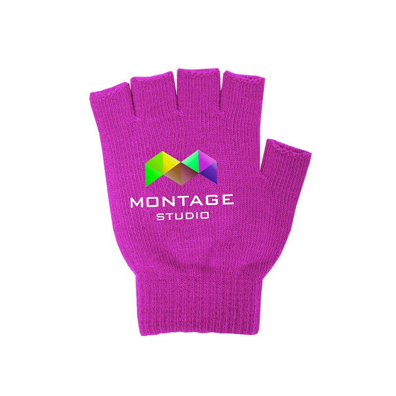 Pantone Matched Fingerless Gloves