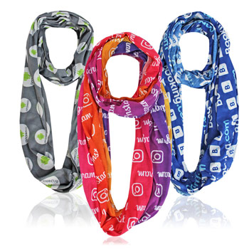 Full Color Infinity Scarf