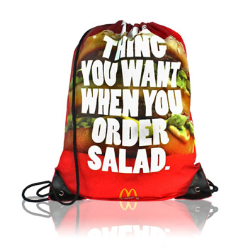 Full Color Drawstring Bag
