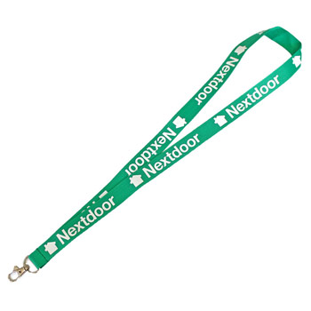 Pantone Matched Screen Printed Lanyard