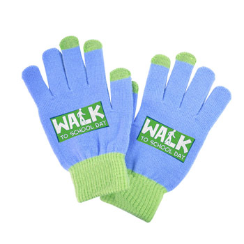 Full Color Color Touchscreen Gloves