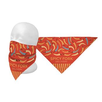 Full Color Triangle Bandana